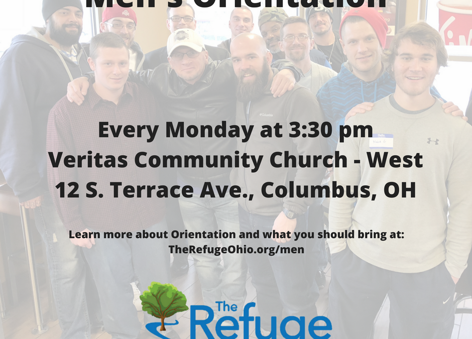 Men's Orientation Now Starts At 3:30 PM