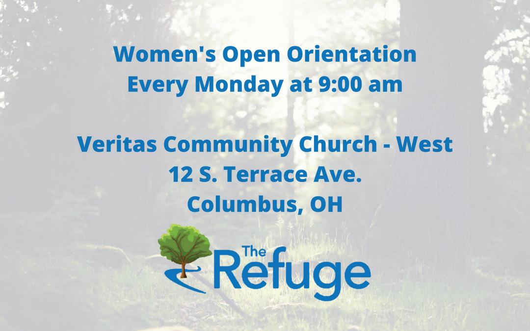 Women's Orientation Starts On Monday