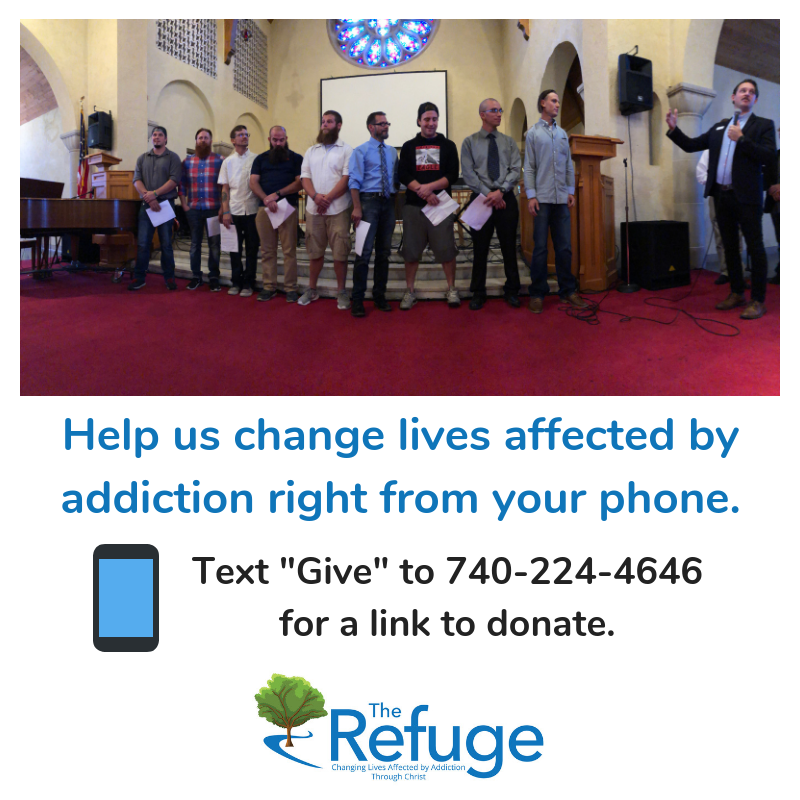 The Refuge Text to Give